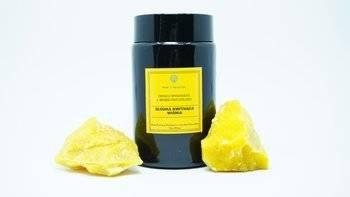 Świeca w słoiku z wosku pszczelego słodka kwitnąca wiśnia 240 ml