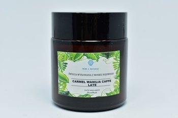 Świeca z wosku sojowego camel wanila caffe 120ml