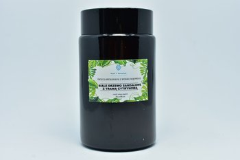 Świeca z wosku sojowego drzewo sandałowe 240ml
