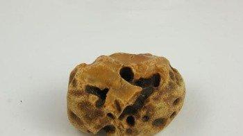 bursztyn bałtycki duży koniak surowy bruzdy