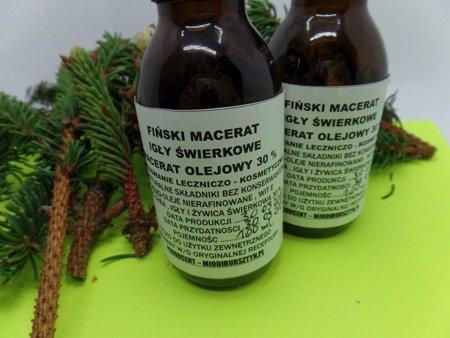 Fiński macerat olejowy 100 ml igły świerkowe