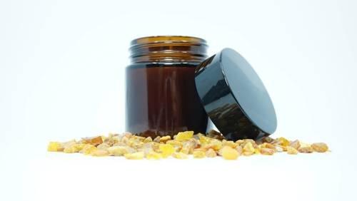 Świeca w słoiku z wosku sojowego sól himalajska 60